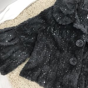 Forever 21 Jackets & Coats - Forever 21 size Medium Grey Faux Fur, Bell sleeves
